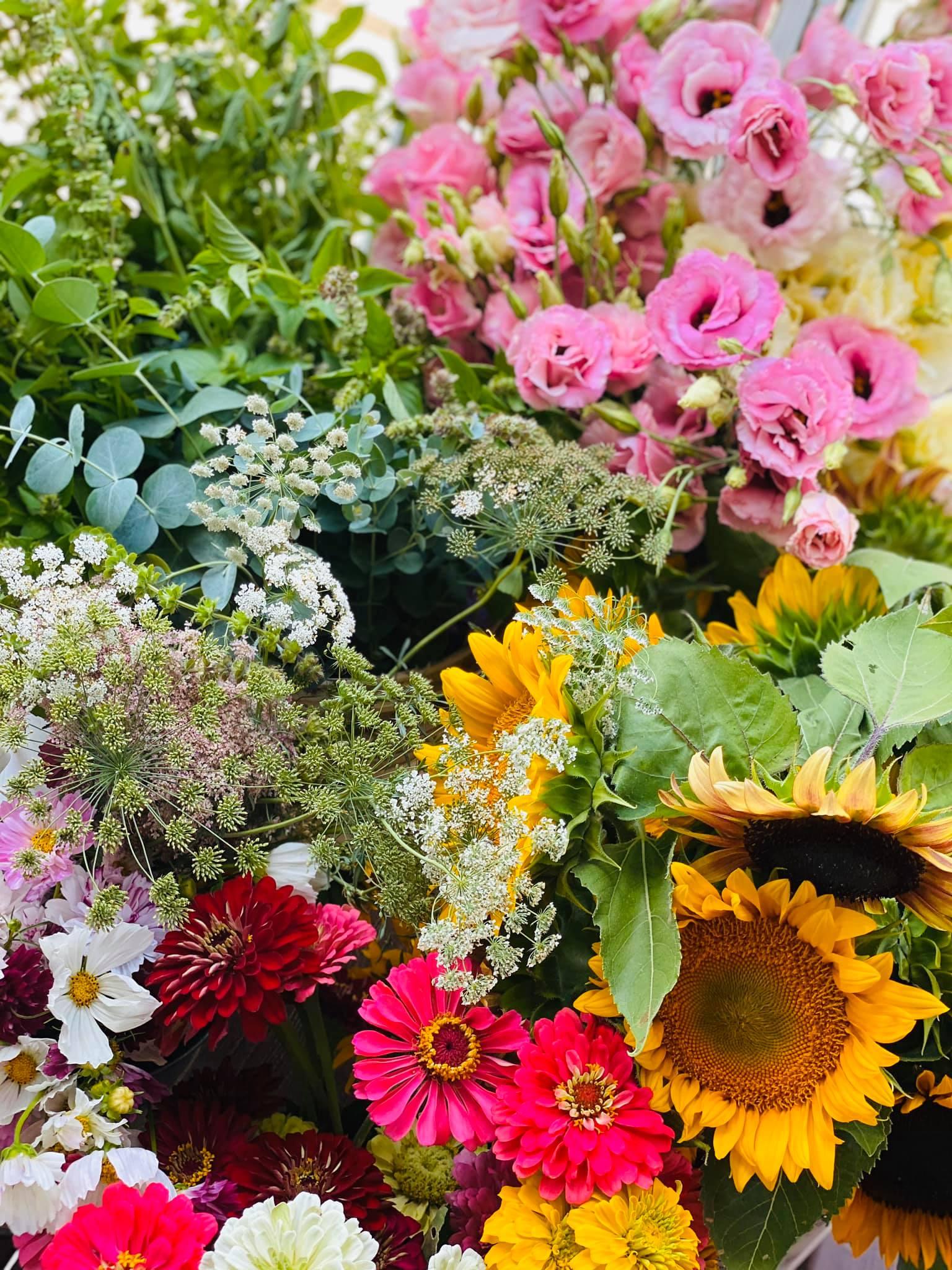 Local, fresh flowers